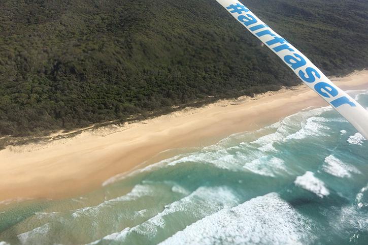 Ariel View, Fraser Island