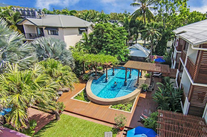 Freestyle Resort Pool Aerial