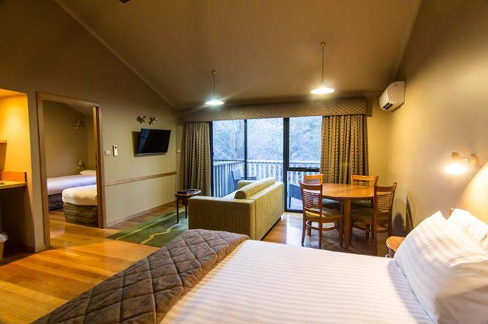 Freycinet Lodge Bed Cabin