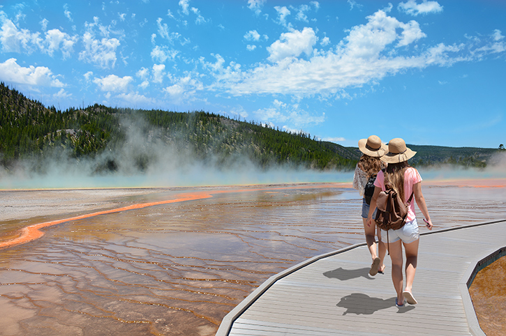 Friends, Yellowstone National Park