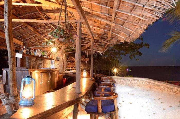 Fumba Beach Lodge Beach side Dhow Bar