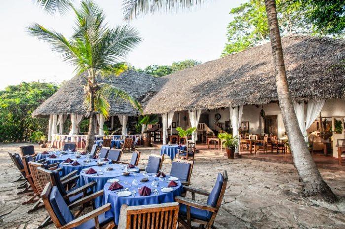 Fumba Beach Lodge Open Air Restaurant