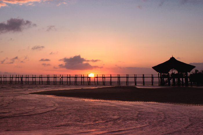 Fundu Lagoon Sunset