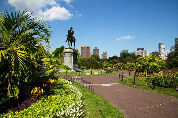 George Washington Statue in Boston Public Garden, Boston