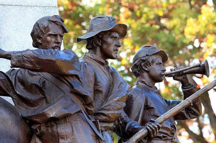 Gettysburg Battlefields, Pennsylvania, USA