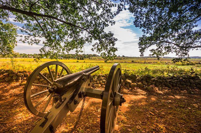 Gettysburg Battlefields, Pennsylvania