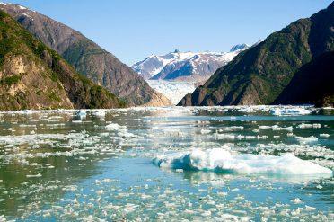 Glaciers In Kenai National Park, Alaska