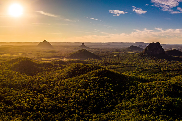 Glasshouse Mountains, Queensland