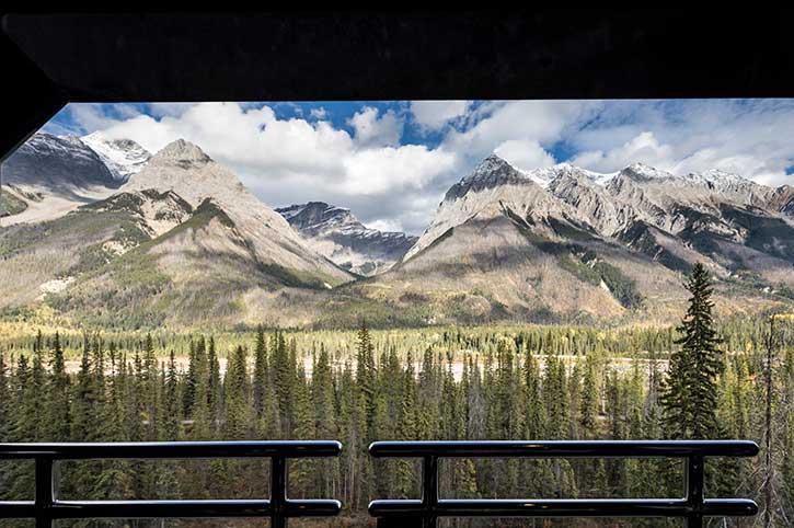 Outdoor Viewing Platform Rocky Mountaineer
