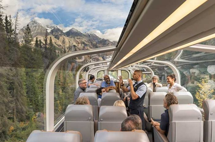 Gold Leaf Service, Rocky Mountaineer