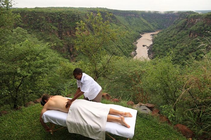 Gorges Lodge Outdoor Spa Treatments