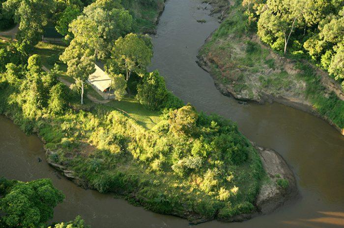 Governors Camp Mara River Location