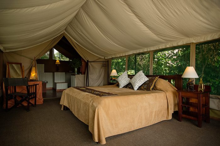 Governors Camp Tent Interior