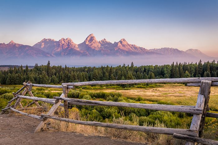 Grand Teton Mountains