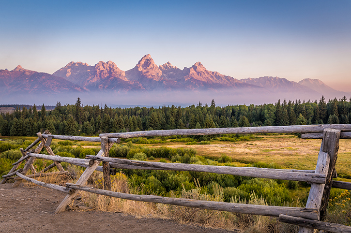 Grand Teton Mountains