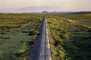 Great Karoo region rail track
