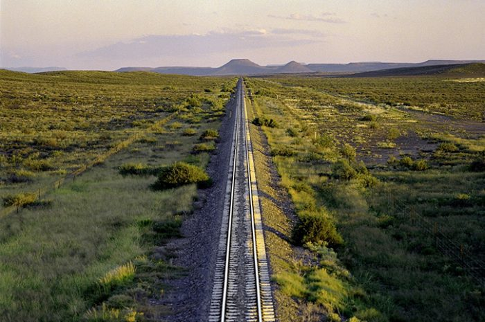 Great Karoo region rail track