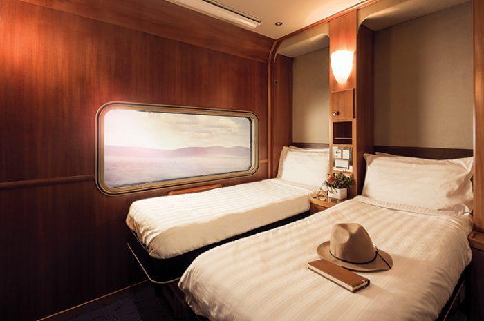 Twin Cabin, Great Southern, Train, Australia