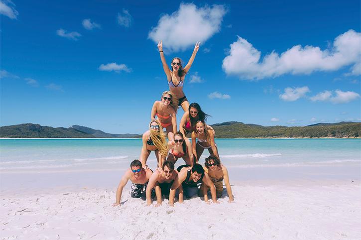 Group Photo at the Whitsundays