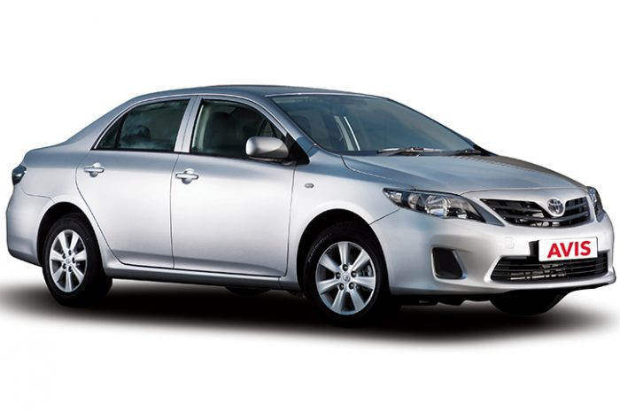 South Africa Car Hire Intermediate Toyota Corolla Manual