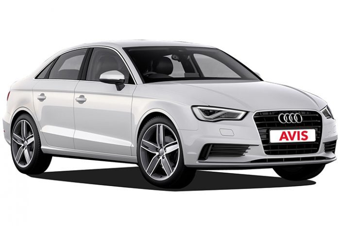 South Africa Car Hire Full Size Audi A3 Automatic