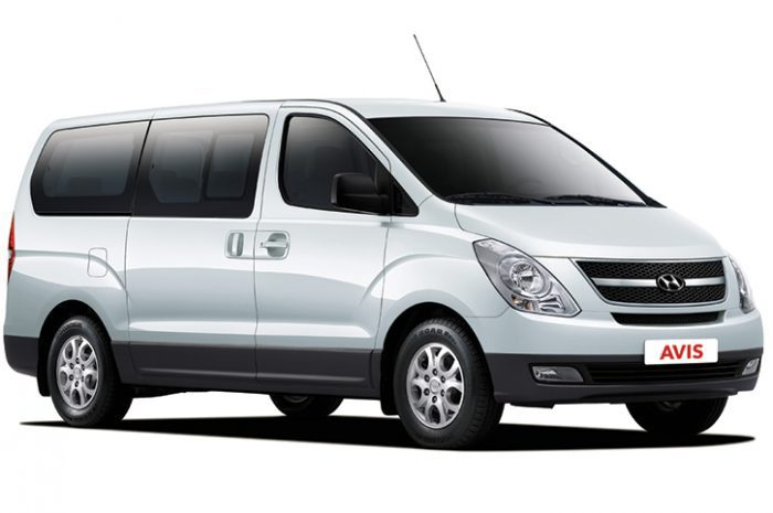South Africa Car Hire People Carrier Hyundai H1 Manual