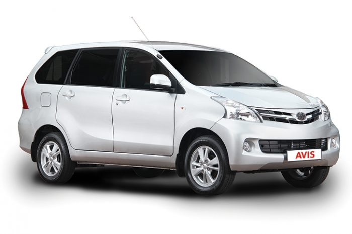 South Africa Car Hire Small Carrier Toyota Avanza Manual