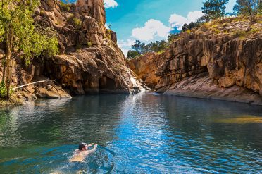 Gunlom Waterfall, Kakadu National Park