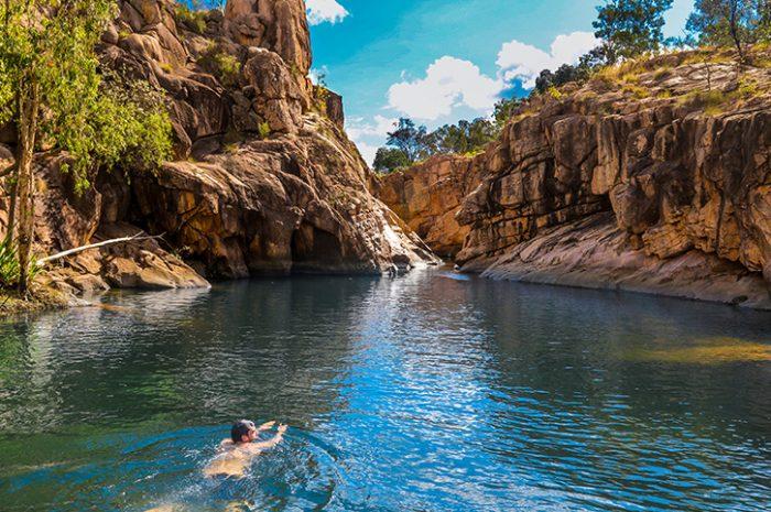 Gunlom Waterfall, Kakadu National Park