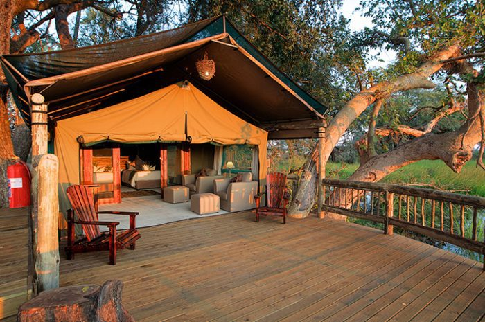 Gunns Camp Tent Exterior