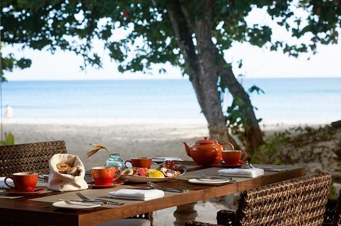 Story Seychelles, Beach Side Breakfast
