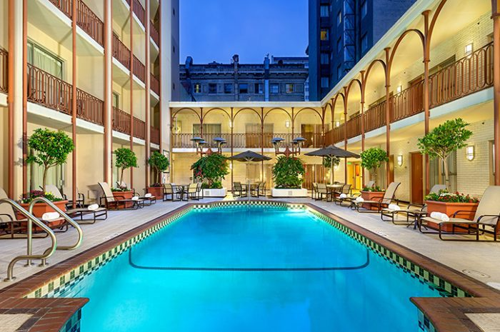 Swimming pool, Handlery Union Square