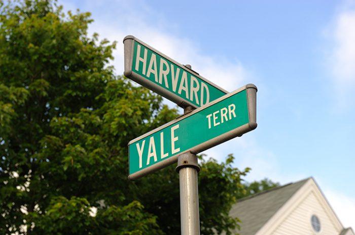 Harvard Street Sign Boston