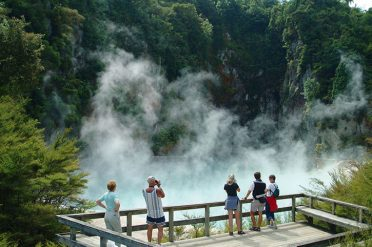 Rotorua, South Island, New Zealand