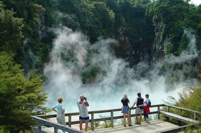 Rotorua, South Island, New Zealand