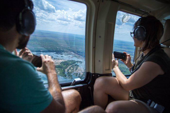 Helicopter, Zimbabwe