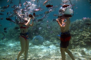 Helmet Diving, Mauritius