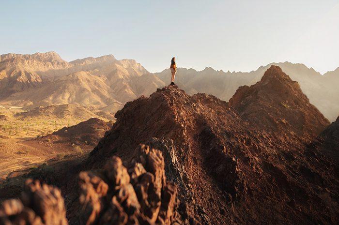 Hiking, Hajar Mountains