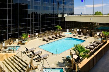Hilton Los Angeles Airport Pool
