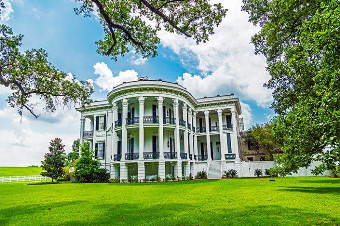 Historic Nottoway plantation in Louisiana