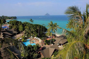 Holiday Inn Resort Phi Phi Aerial