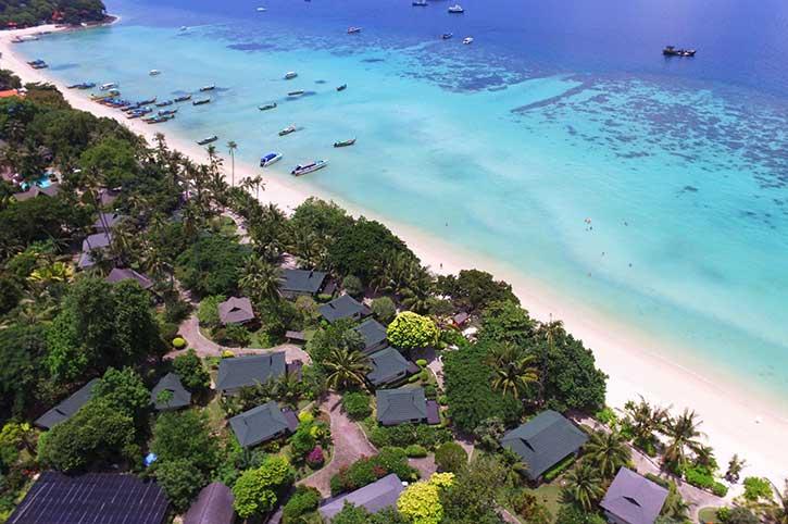 Holiday Inn Phi Phi Aerial