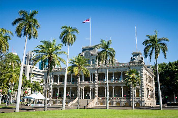 Honolulu Iolani Palace, Hawaii