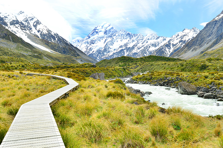 Hooker Valley Track, Mount Cook National Park