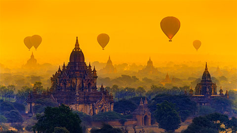 Hot-Air-Balloons-Bagan - Burma
