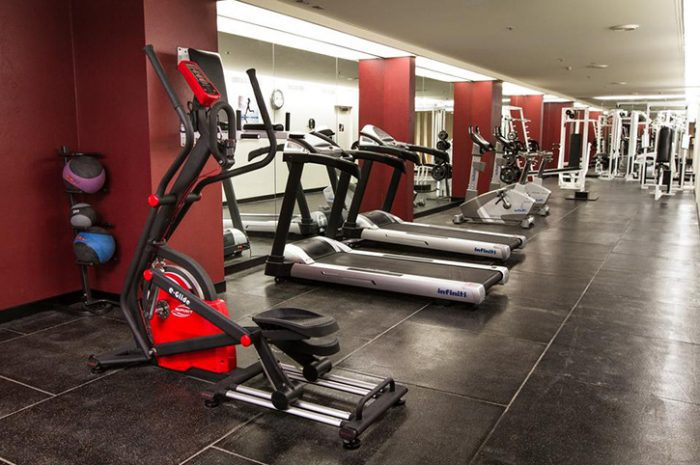Hotel Grand Chancellor Gym