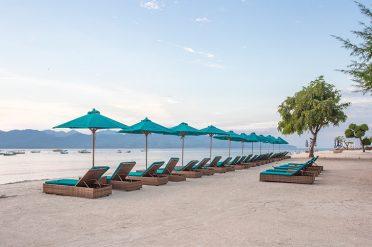 Hotel Villa Ombak Beach Area