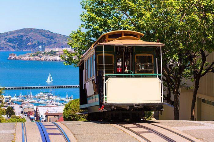 Hyde Street Cable Car San Francisco