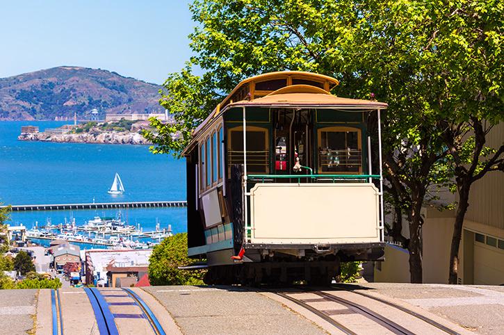 Hyde Street Cable Car, San Francisco