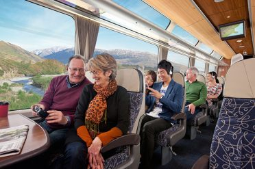 Passengers On Coastal Pacific Interior